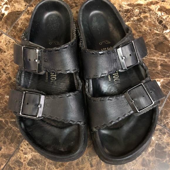0e9803231e78 Birkenstock Shoes - Birkenstock Monterey Exquisite Natural Leather.